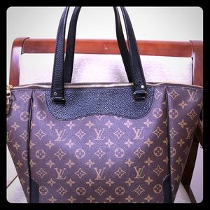 LV Estrela Noir monogram canvas tote purse bag
